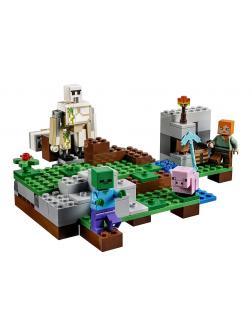Конструктор Lp «Железный Голем» 18001 (Minecraft 21123) / 162 детали