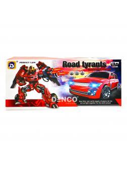Машинка-трансформер 2 в 1 «Road Tyrants» (свет, звук, музыка) 899