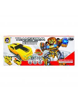 Машинка-трансформер 2 в 1 «Transform Robot Bumblebee» (свет, звук, музыка) 8986