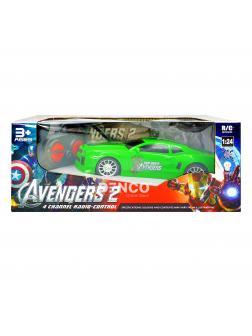 Спортивная машина на радиоуправлении 1:24 «Avengers 2» The Hulk YY-17 BCD