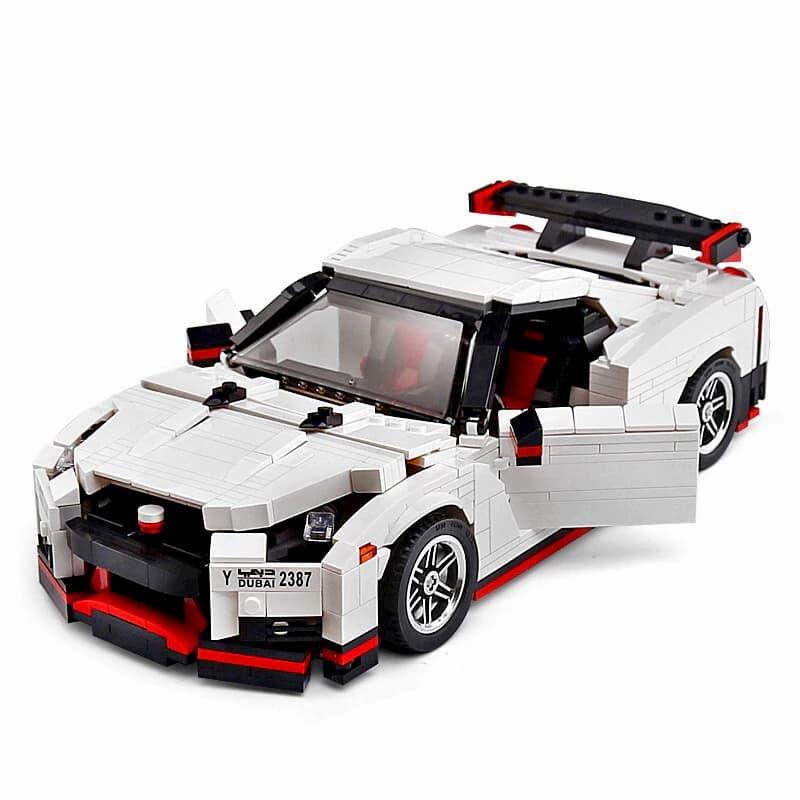 Конструктор Mould King «Машина Nissan GT-R» 13104 / 1024 детали