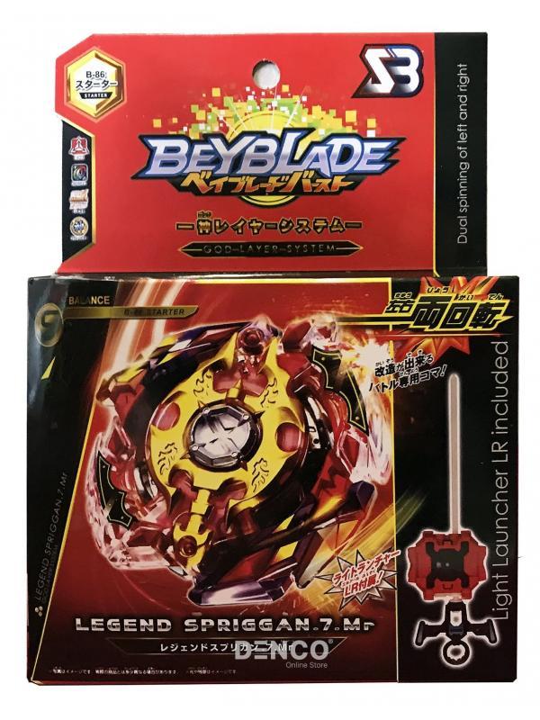 Волчок BEYBLADE Burst Легендарный Спрайзен С3 (Legend Spriggan) B-86 от SB с Пускателем