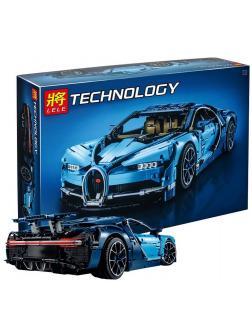 Конструктор Ll «Bugatti Chiron» 38036 (Technic 42083) / 3636 деталей