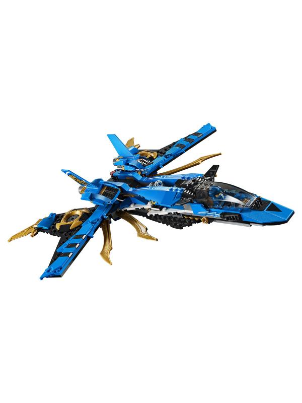 Конструктор Ll «Штормовой истребитель Джея» 31182 (НиндзяГо 70668) / 528 деталей
