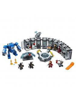 Конструктор Lp «Лаборатория Железного человека» 07121 (Super Heroes 76125) / 587 деталей