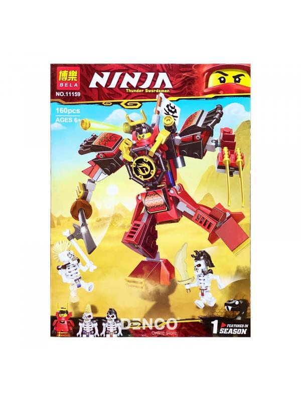 Конструктор Bl «Робот-Самурай» 11159 (НиндзяГо 70665) 160 деталей