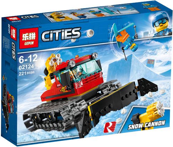 Конструктор Lp «Снегоуборочная машина» 02124 (City 60222) 221 деталь
