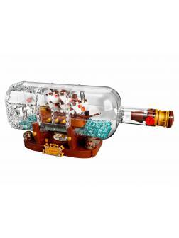 Конструктор Bl «Корабль в бутылке» 11050 (Ideas 21313) / 962 детали