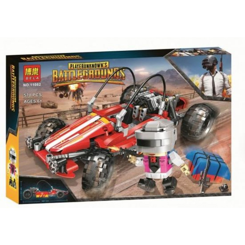 Конструктор Battlegrounds «Гоночный автомобиль» 11052 (Creator) 570 деталей