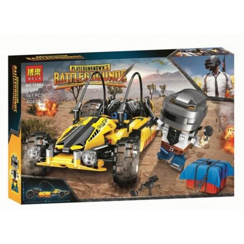 Конструктор Battlegrounds «Багги» 11081 (Creator) 561 деталь