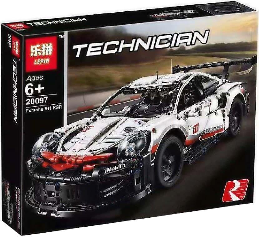 Конструктор Lp «Porsche 911 RSR» 20097 (Technic 42096) / 911 деталей
