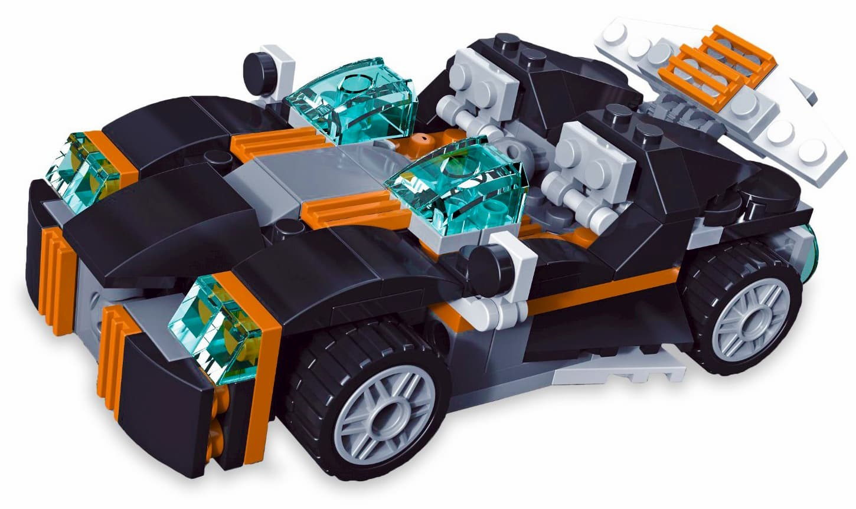 Конструктор JISi Bricks «Транспорт 36 в 1» 3122 (Creator 36 in 1) / 256 деталей