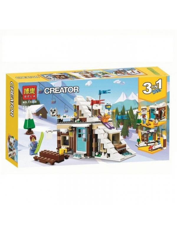 Конструктор Bl «Зимние каникулы» 11048 (Creator 31080) / 386 деталей