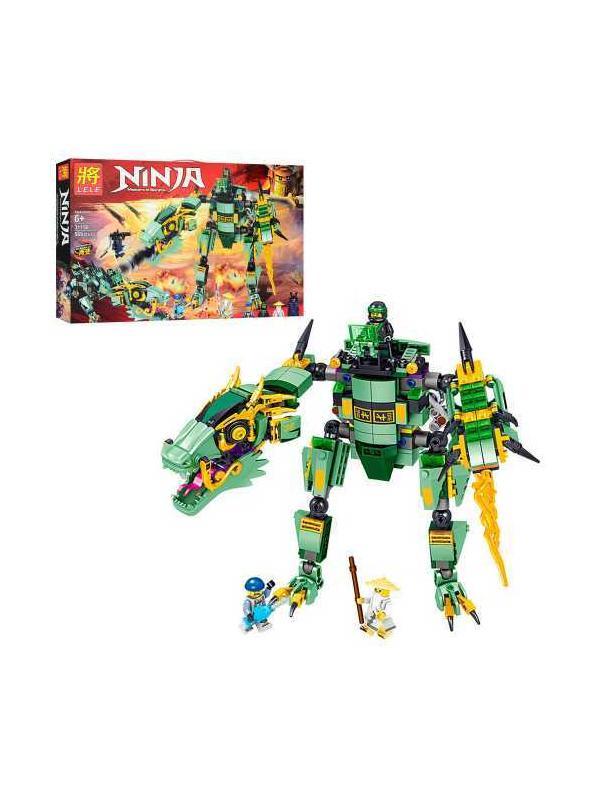 Конструктор Ll «Зеленый Дракон» 31158 (НиндзяГо) 568 деталей