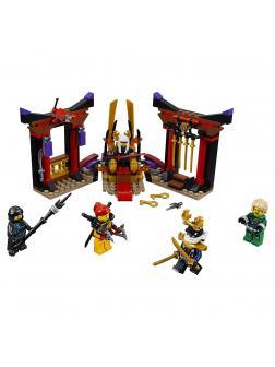 Конструктор Ninja «Решающий бой в тронном зале» 10935 (Ninja 70651) 251 деталь