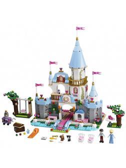 Конструктор Счастливая принцесса «Золушка на балу в Королевском Замке» 79279 (Disney Princesses 41055) 669 деталей