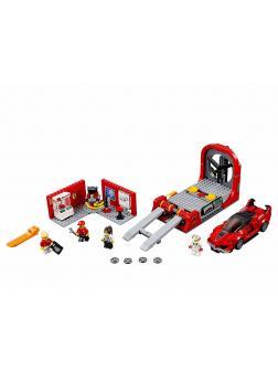 Конструктор Bl «Феррари FXX K и Центр разработки и проектирования» 10781 (Speed Champions 75882) / 526 деталей