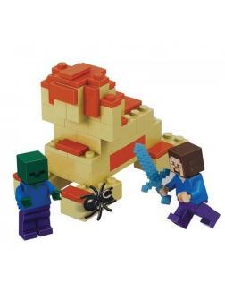Конструктор Bl Minecraft «Стив и Зомби» 10191 66 деталей