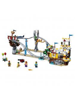Конструктор Ll «Атракцион Пиратские горки» 33222 (Creator 31084) 956 деталей