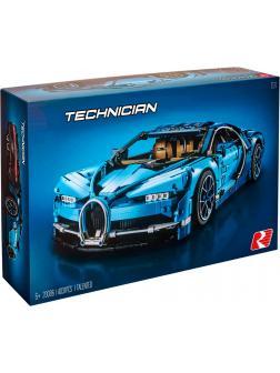 Конструктор Lp «Bugatti Chiron» 20086 (Technic 42083) / 4031 деталь