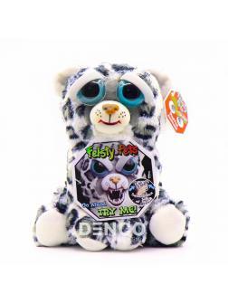 Мягкая игрушка Feisty Pets Злой / Добрый Леопард «Смертельная Лена / Lethal Lena»  / 22 см.