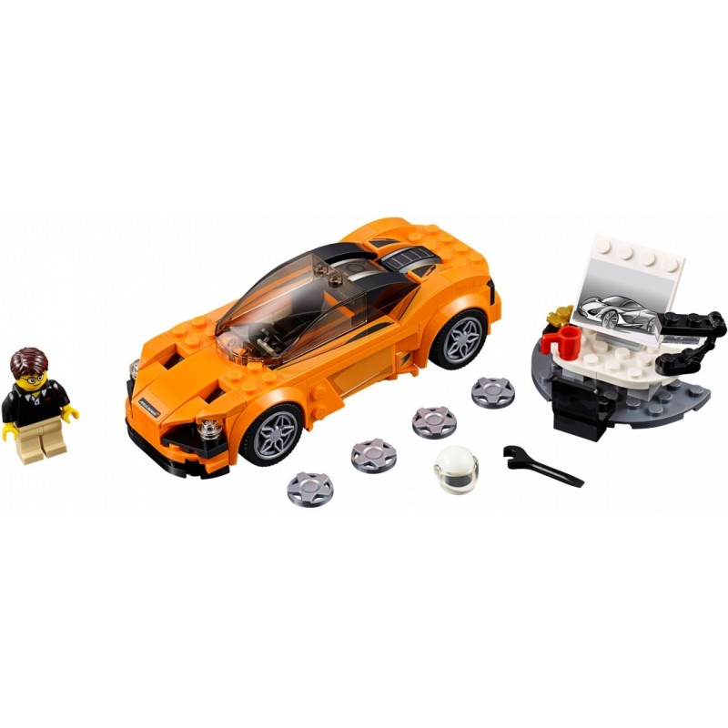 Конструктор Bl «McLaren 720S» 10776 (Speed Champions 75880) / 167 деталей