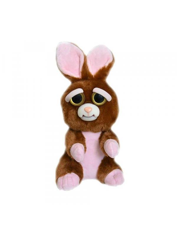 Мягкая игрушка Feisty Pets «Злой / Добрый Заяц»  / 22 см.