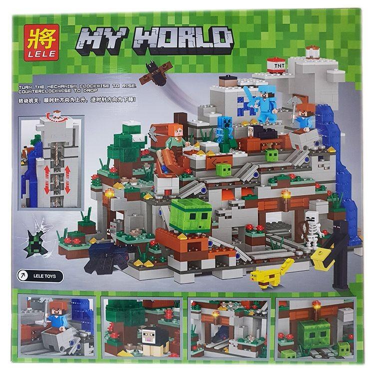 Конструктор Minecraft «Горная пещера маленькая» 33211 (Minecraft) 1282 детали