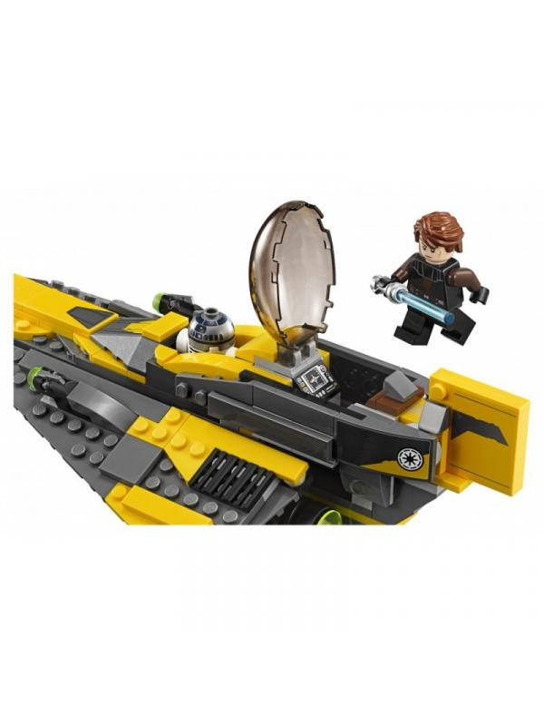 Конструктор Lp «Звёздный истребитель Энакина» 05144 (Star Wars 75214) 277 деталей