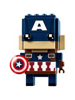 Конструктор Lp «Капитан Америка» 43015 (BrickHeadz 41589) / 88 деталей