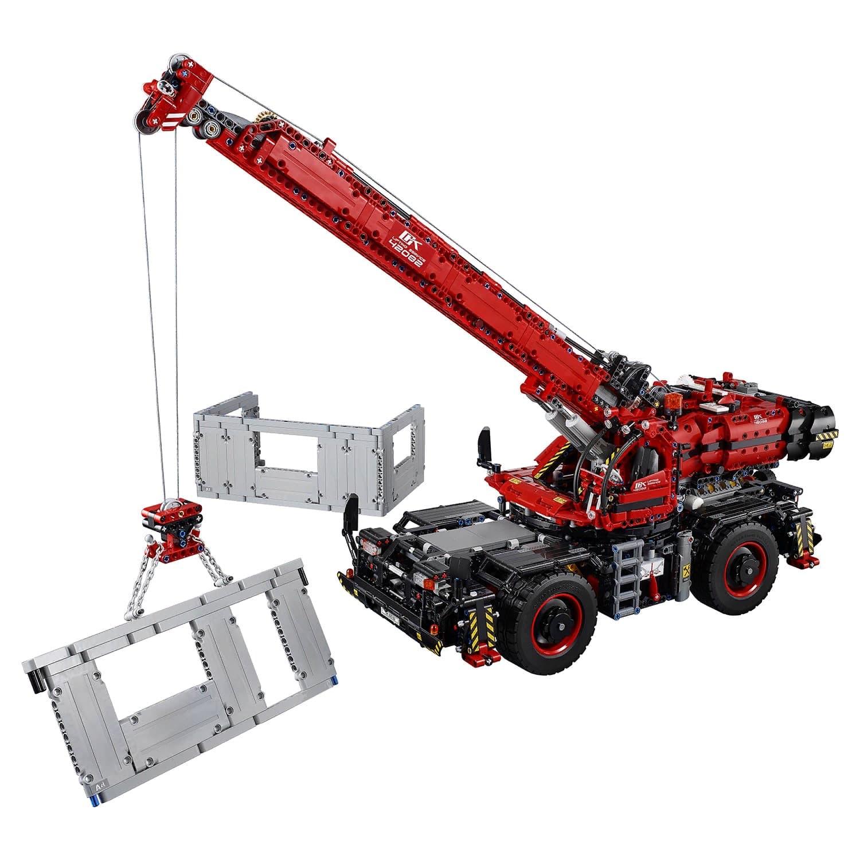 Конструктор Lp «Подъёмный кран для пересечённой местности» 20085 (Technic 42082) / 4544 детали