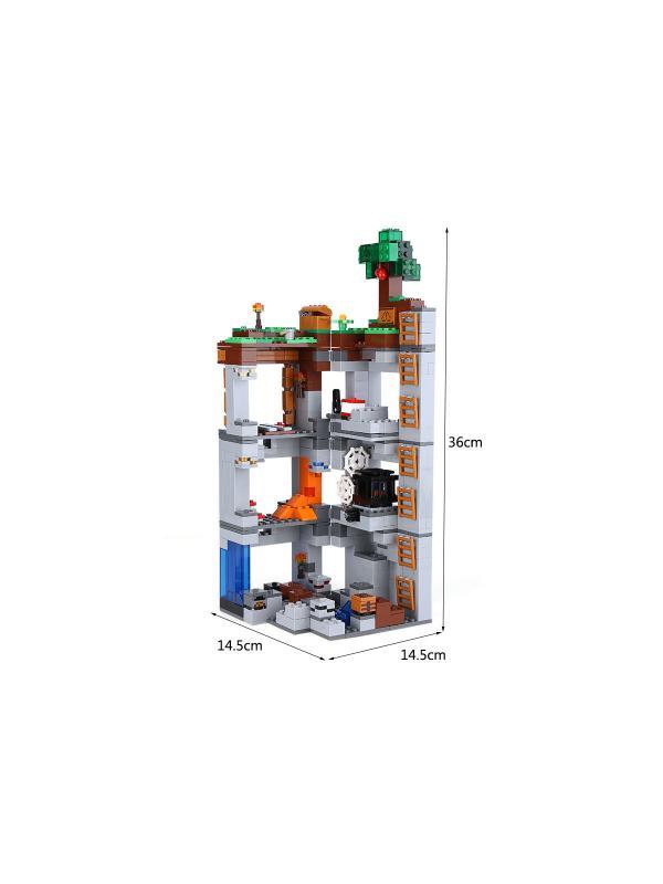 Конструктор Lp «Приключения в шахтах» 18042 (Minecraft 21147) 721 деталь