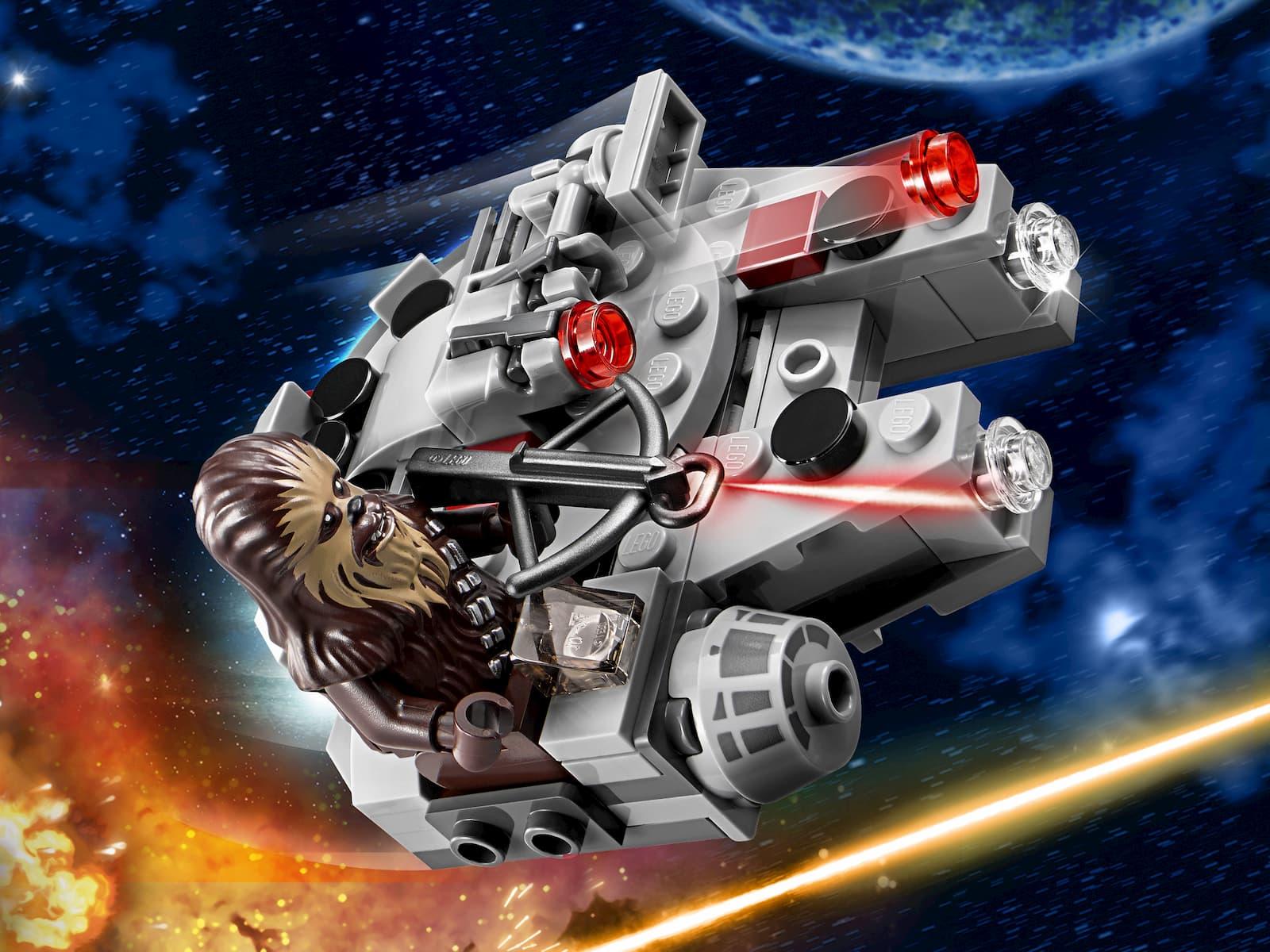 Конструктор Bl «Микрофайтер Сокол Тысячелетия» 10893 (Star Wars 75193) / 98 деталей