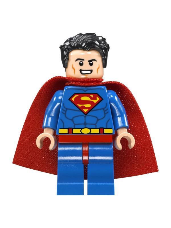 Конструктор Bl «Супермен и Крипто объединяют усилия» 10842 (Super Heroes 76096) / 219 деталей