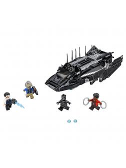 Конструктор Super Heroes «Нападение Королевского Когтя» 10837 (Super Heroes 76100) 387 деталей