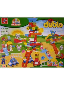 Конструктор LX DUBLO «Детская площадка» A861 (Дупло) 103 детали