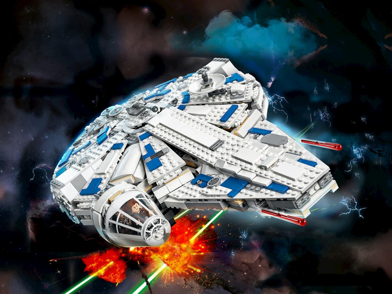 Конструктор Ll «Сокол Тысячелетия на Дуге Кесселя» 35029 (Star Wars 75212) / 1490 деталей