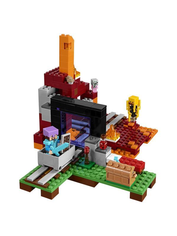 Конструктор Lp «Портал в Подземелье» 18038 (Minecraft 21143) 527 деталей
