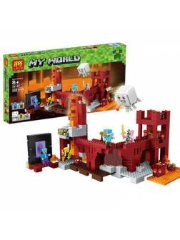Конструктор Ll «Подземная Крепость» 79147 (Minecraft 21122) 589 деталей