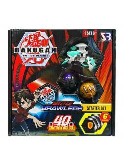 Игровой набор «Bakugan Ultra Battle Brawlers» фигурками-трансформерами Set №1