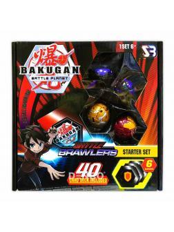 Игровой набор «Bakugan Ultra Battle Brawlers» с фигурками -трансформерами Set №2
