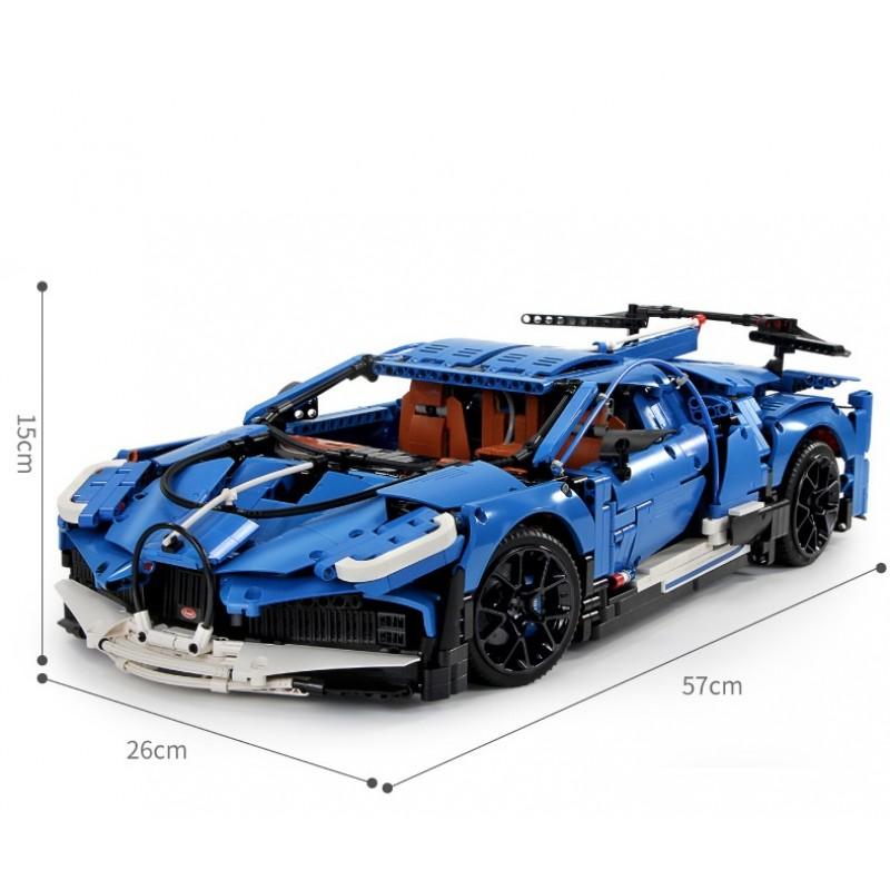 Конструктор Mould King «Bugatti Divo» 13125 (Technic) / 3858 деталей
