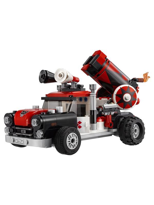 Конструктор Bl «Тяжёлая артиллерия Харли Квинн» 10880 (Batman Movie 70921) 449 деталей