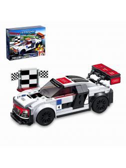 Конструктор JiSi Bricks «Audi R8 LMS ultra» 78114 (Speed Champions 75873) / 183 детали