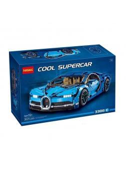 Конструктор Decool «Bugatti Chiron» 3388 (Technic 42083) / 3625 деталей