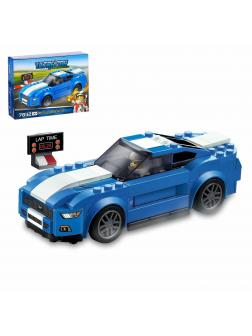Конструктор JiSi Bricks «Ford Mustang GT» 78112 (Speed Champions 75871) / 193 детали