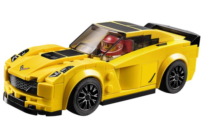Конструктор JiSi Bricks «Chevrolet Corvette Z06» 78111 (Speed Champions 75870) / 181 деталь