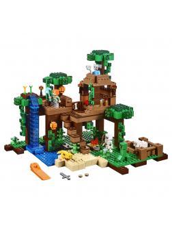 Конструктор Ll «Домик на дереве в джунглях» 79282 (Minecraft 21125) 718 деталей