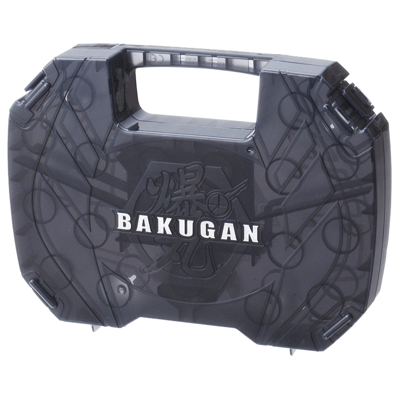 Набор игровой Бакуган Кейс для фигурок-трансформеров / Чёрный