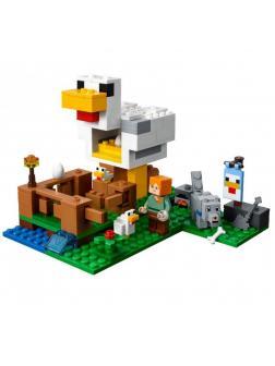 Конструктор Lp «Курятник» 18035 (Minecraft 21140) / 222 детали